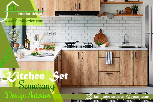 kitchen set interior semarang